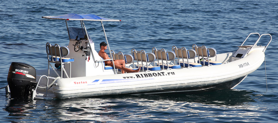 Multifunctional boat RIB 900